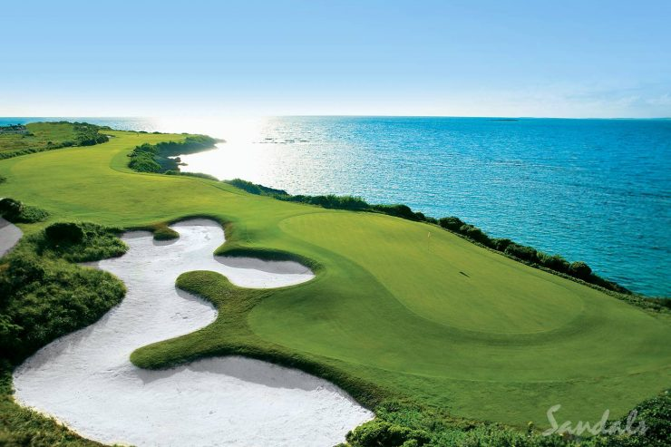 Golf Weddings & Golf Honeymoons | Sandals Wedding and Gift Registry Lets Guests Give You Portions Of Your Golf Honeymoon or Golf Wedding At Sandals Golf Resorts As A Wedding Gift