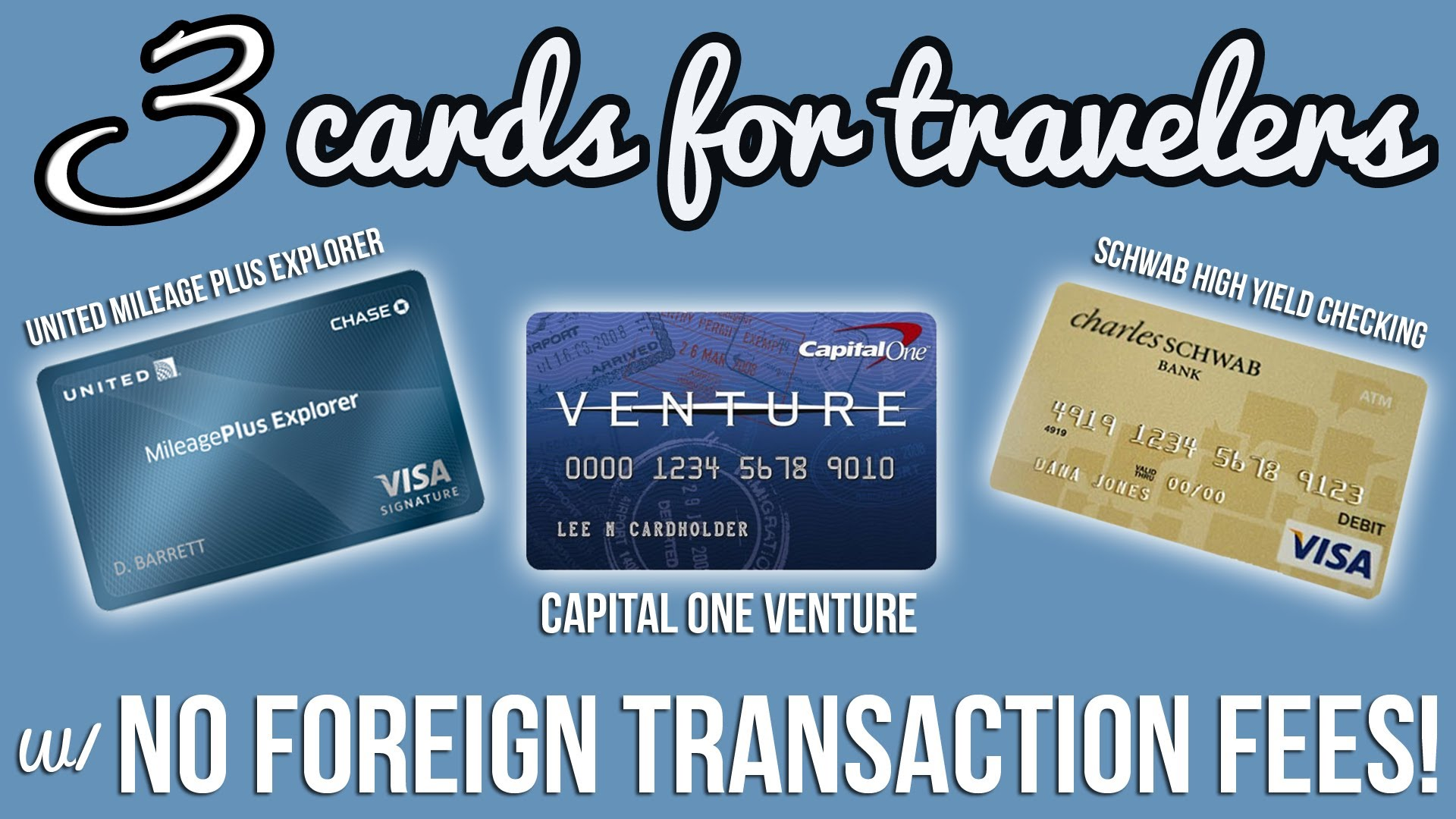 Zero forex fee credit card
