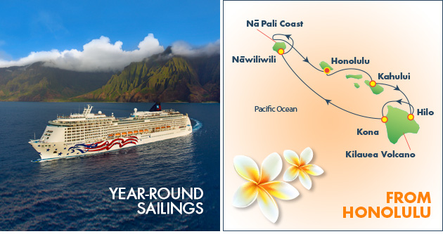 GolfAhoy Hawaii Golf Cruises NCL Pride of America