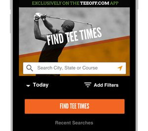 TeeOff.com by PGA TOUR Debuts New Mobile App with No Booking Fees