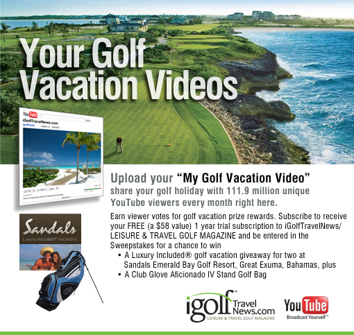Leisure & Travel Golf Magazine My Golf Vacation Video