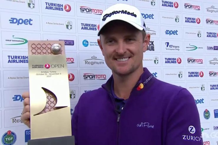 Justin Rose wins Turkish Airlines Open
