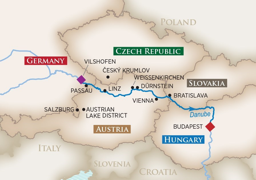 GolfAhoy Danube River GOLF CRUISES Value Package