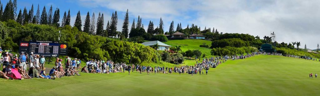 2021 PGA TOUR Tournament of Champions Final Two Days VIP Observer package including 7 Day VIP Deluxe Penthouse Suite Hawaii Islands Golf Cruise